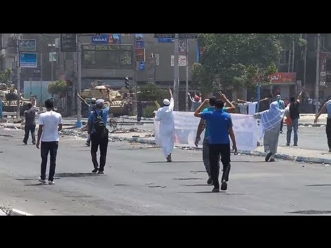 Unarmed Protestors Shot and Killed in Egypt (Graphic Video Warning)