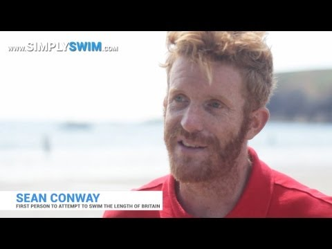 SimplySwim Interview Sean Conway Swimming Britain - Wales