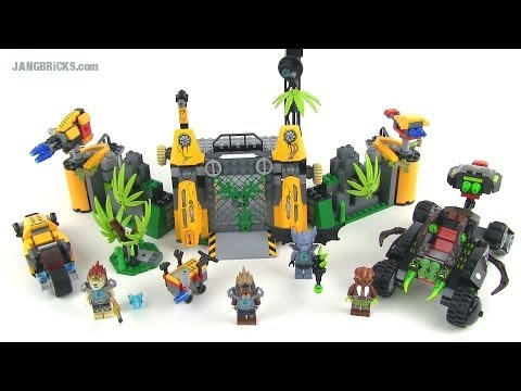 LEGO Chima 70134 Lavertus' Outland Base set Review!