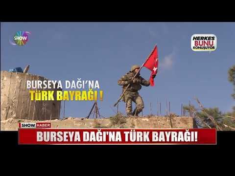 Burseya Dağı'na Türk Bayrağı!