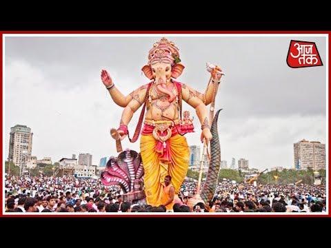 मुंबई में गणपति विसर्जन की EXCLUSIVE तस्वीरें