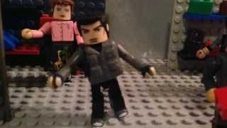 I am legend 2 zombies minimates stopmotion stop motion lego