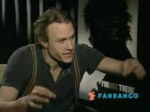 Heath Ledger talks about The Dark Knight (NEW)