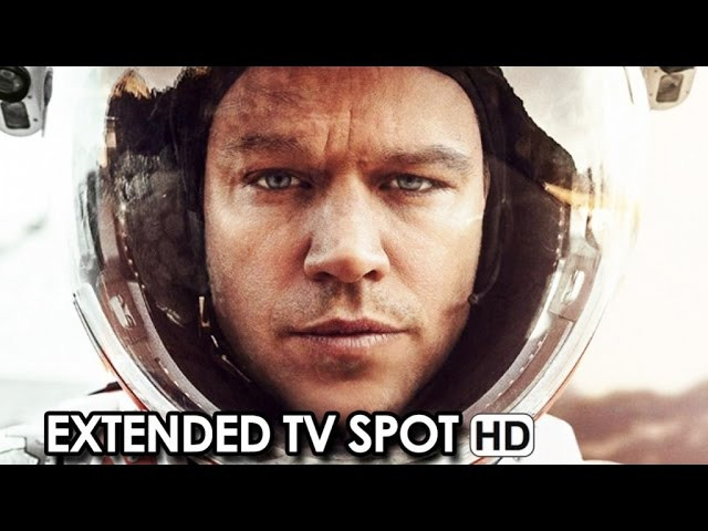 THE MARTIAN ft. Matt Damon Extended TV Spot 'Help' (2015) HD