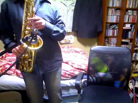 """Main Theme from """"Detective Conan"""" on Sax"""