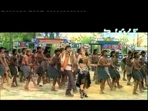 rambha chiranjeevi hot jungle item song new.flv