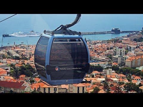 Spektakuläre Fahrt | Seilbahn von Funchal zum Monte | Madeira (Portugal)