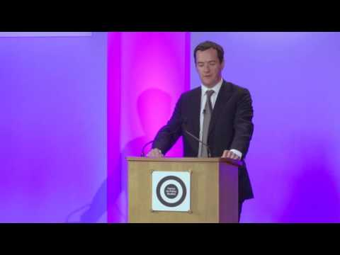 George Osborne MP - CPS Margaret Thatcher Lecture 2016
