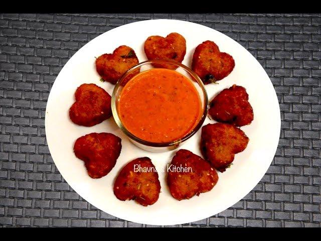 Aloo Cutlets - Video Recipe - quick & easy Potluck Recipe - Potato Patties - Valentine's Day Recipe