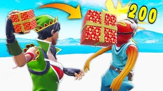*NEW* 1000 IQ PRESENT KILL TRICK! | Fortnite Best Moments #104 (Fortnite Funny Fails & WTF Moments)