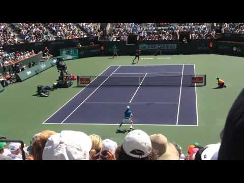 Novak Djokovic vs Milos Raonic 2016 Indian Wells Final