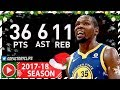 Kevin Durant CRAZY Full Highlights Vs Lakers 2017 12 18 36 Pts 11 Reb 8 Ast 3 Blks CLUTCH mp3