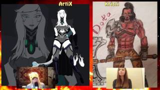 Дота, ты ли это?/ Kristi Krokkk vs Artix_Channy/ ART ДУЭЛЬ