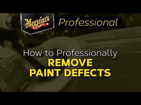 How to Professionally Remove Paint Defects