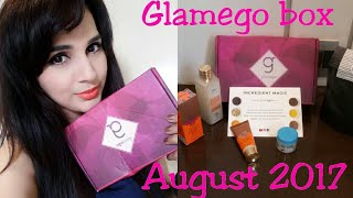 Glam Ego Box August 2017 | Products worth Rs.1650 | Unboxing + Review |