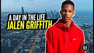 Jalen Griffith IS YOUR NEW FAVORITE POINT GUARD! Day in the Life: Chicago's COLDEST PG! EPISODE 1!