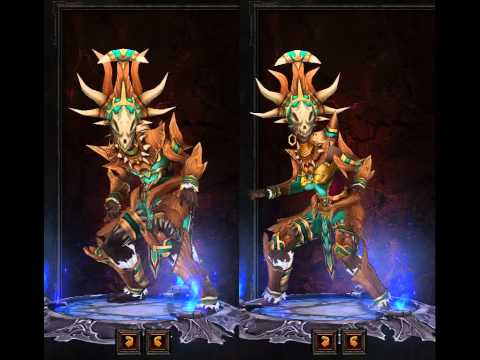 Diablo III - Witch Doctor Armor Preview