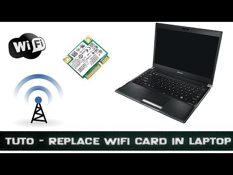 tuto changer carte wifi pc portable youtube. Black Bedroom Furniture Sets. Home Design Ideas