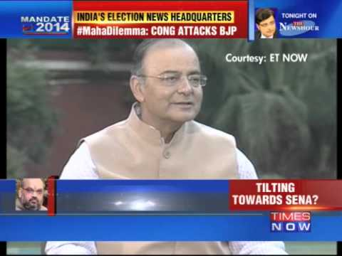 'Will choose best option in Maharashtra' Arun Jaitley