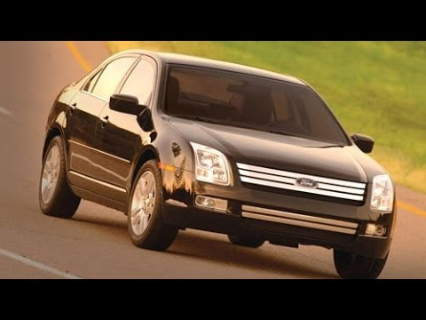 2007 Ford Fusion Start Up, Road Test,  and Review 3.0 L V6