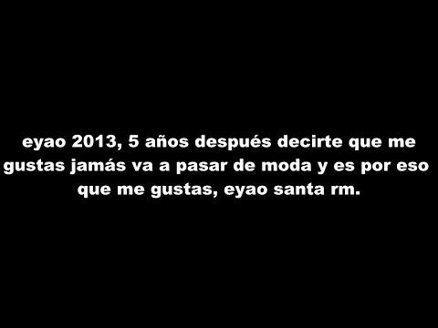 Santa Rm - Me Gustas (Letra) [Nueva versión] 2013