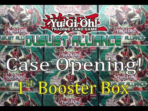 Yugioh Duelist Alliance Case Duelist Alliance Case Opening