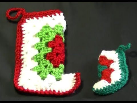 Crochet Christmas Stockings: 17 Free Patterns | FaveCrafts.com
