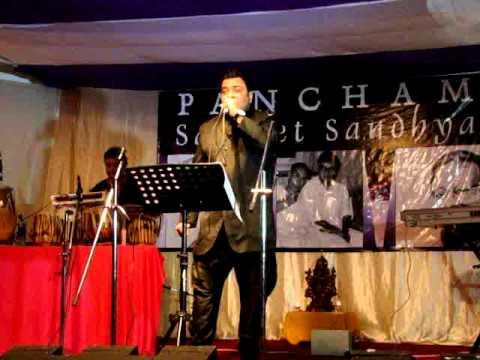 Saamne yeh kaun aaya (live) - Prashant Mohitey - Pancham geet...