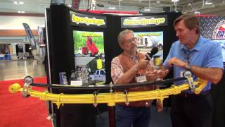 SuperSprings overload truck springs interview at NATDA convention.