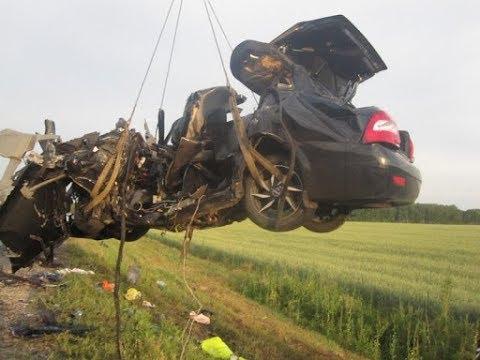 Аварии подборка января 2018 г.