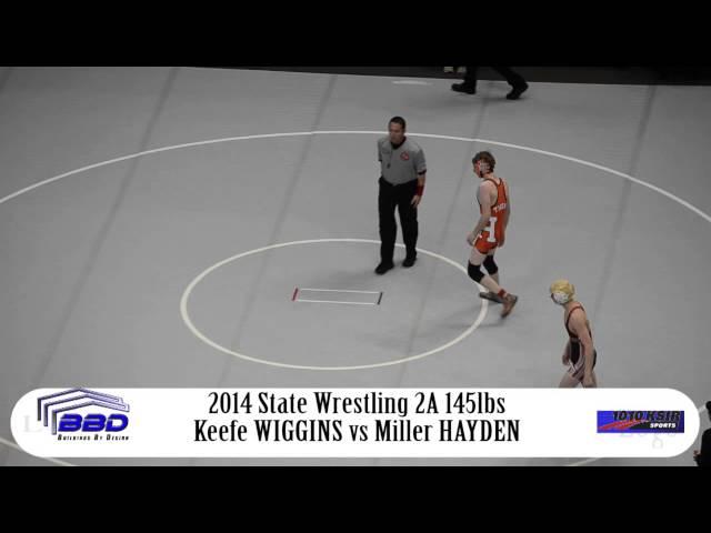 1st Round-Tryston Keefe WIGGINS