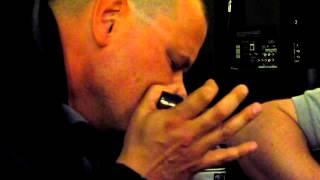 Blues harmonica solo