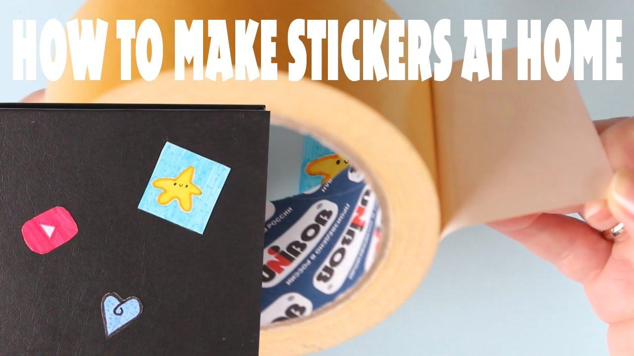 Как сделать наклейку в домашних условиях