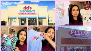 HOW I SAVE MONEY ON KIDS CLOTHES!!! DDS DISCOUNTS AND FALLAS PAREDES HAUL!!!