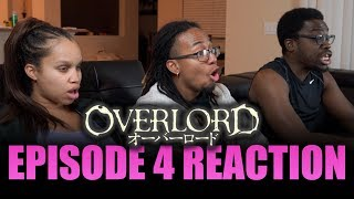 Ains is OP!!! | Overlord Ep 4 Reaction