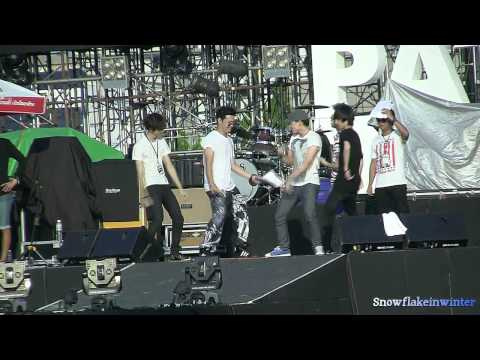 Bie บี้ : Sound check- Blocking @ Pattaya Music Festival 2013 (23-03-13)