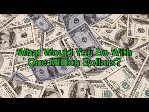 essay what would you do with a million dollars