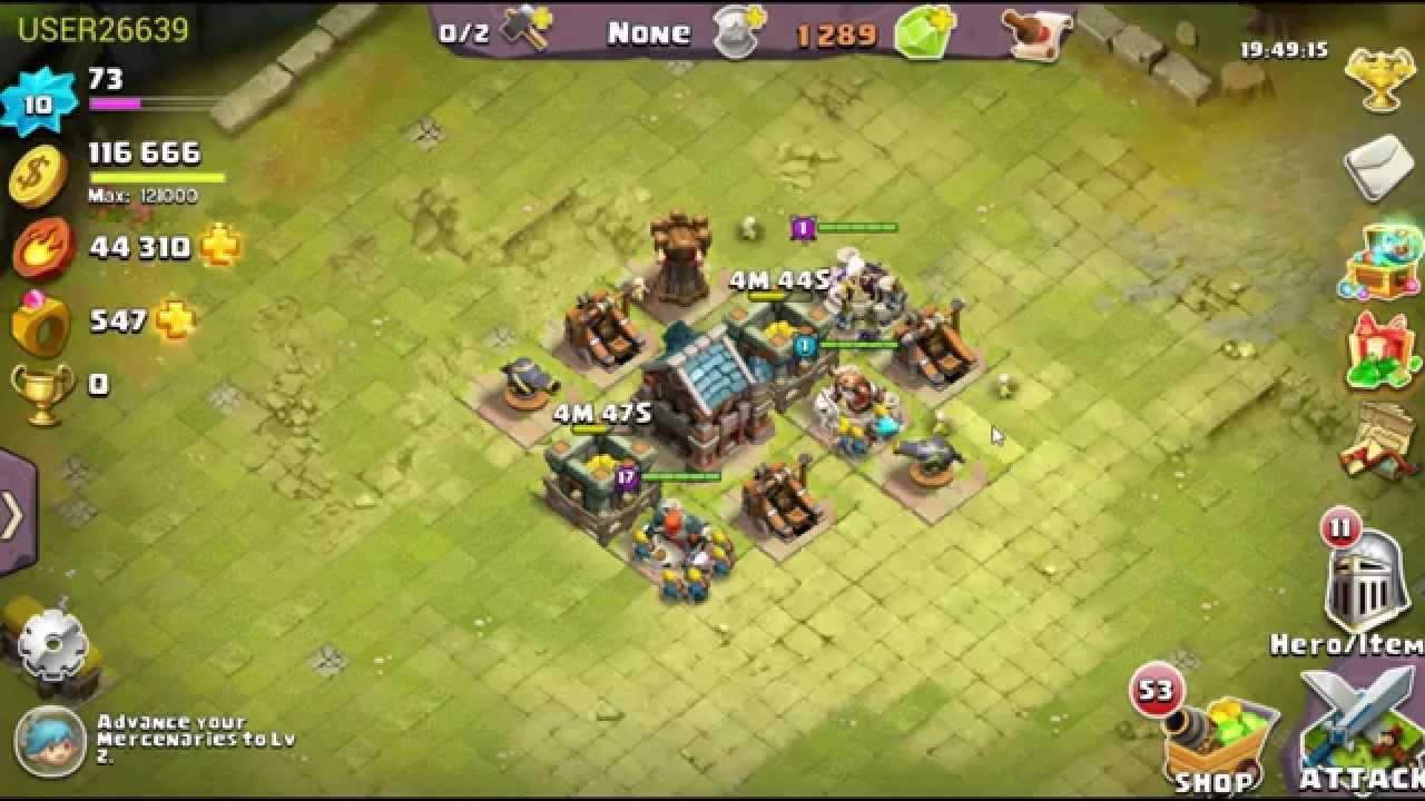 Clash of Lords 2- Free4Mizzle- New Players Ep. 1 - YouTube