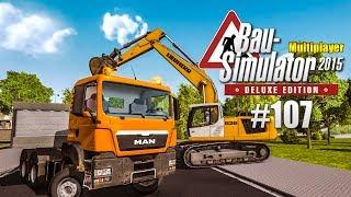 Bau Simulator 2015 Multiplayer 107  Dixi Klos Zur Baustelle Construction Simulator Deluxe