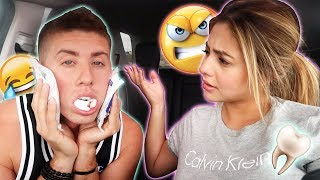 WISDOM TEETH REMOVAL!!! **FUNNIEST AFTERMATH**