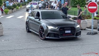 GMK's 730HP Audi RS6 C7 with Milltek Exhaust - Accelerations & Crackles !