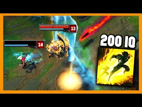 Perfect 200 IQ Flash Tricks - League of Legends