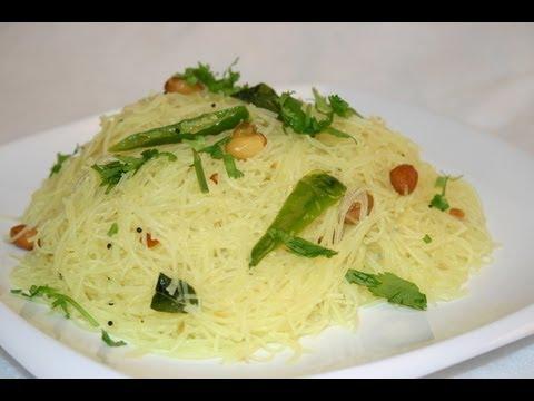 Gluten Free Rice Sticks Upma Recipe