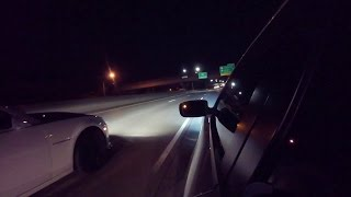 Dodge Charger Scat Pack Stock Vs Supercharged Camaro SS Street Race dodge Lost