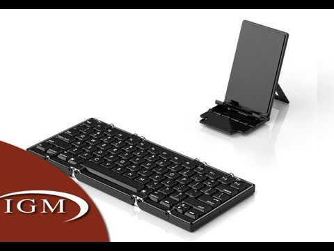 Jorno Foldable Wireless Keyboard for iPhone, iPad (CES First Look)