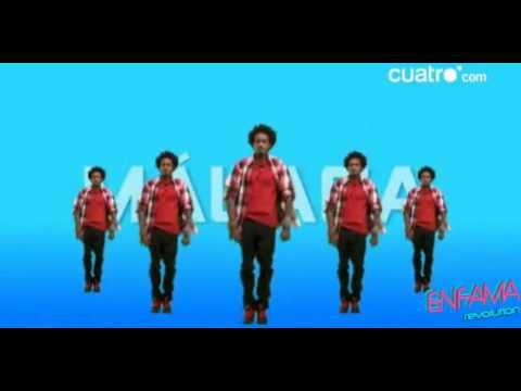 Coreo para el flash mob de MÁLAGA. 29 07 10