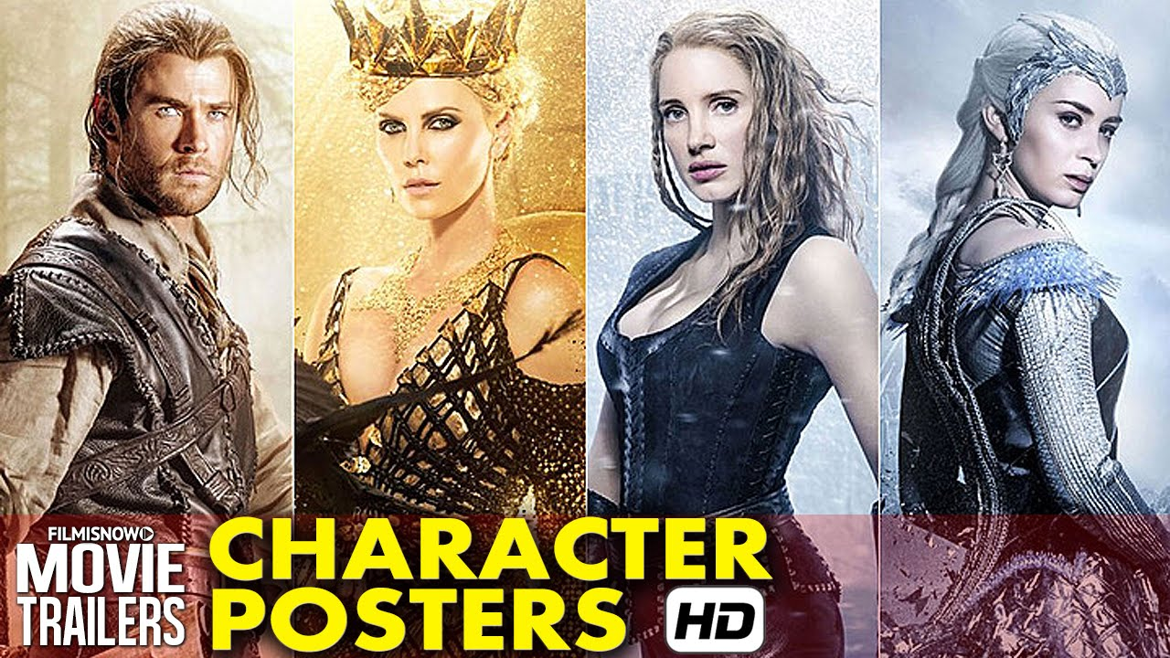 The Huntsman: Winters War Character Posters (2016) - Chris Hemsworth [HD]