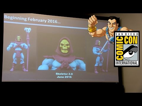 Mattel Mattypalooza Panel At SDCC 2015 - MOTU Classics And ThunderCats Reveals