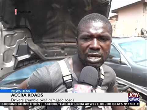 Accra roads - News Desk on Joy News (20-6-16)