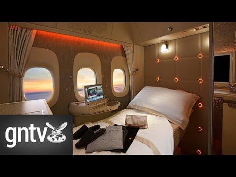 A tour inside Emirates' new first class cabin